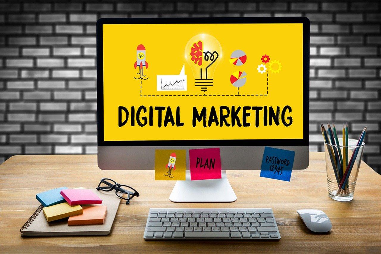Bureau d'un spécialiste de marketing digital externalisé